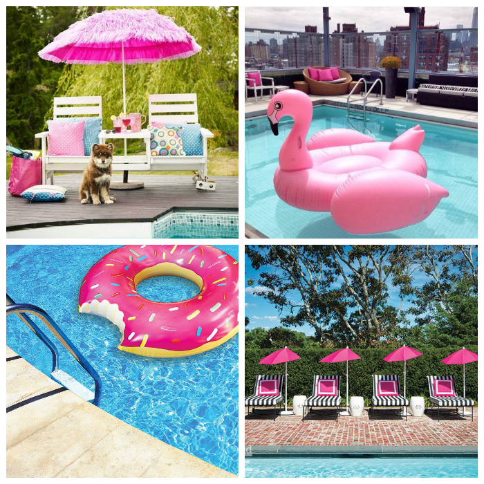 Guide to throwing the perfect summer pool party for Garden pool party 2015