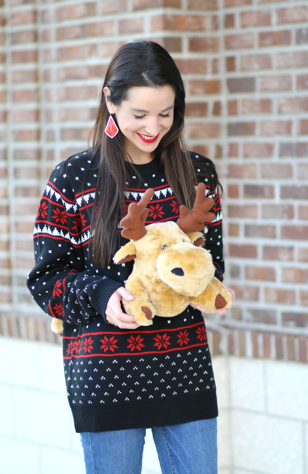 Tacky Holiday Fashion: 3D Ugly Christmas Sweater | Diary of a ...