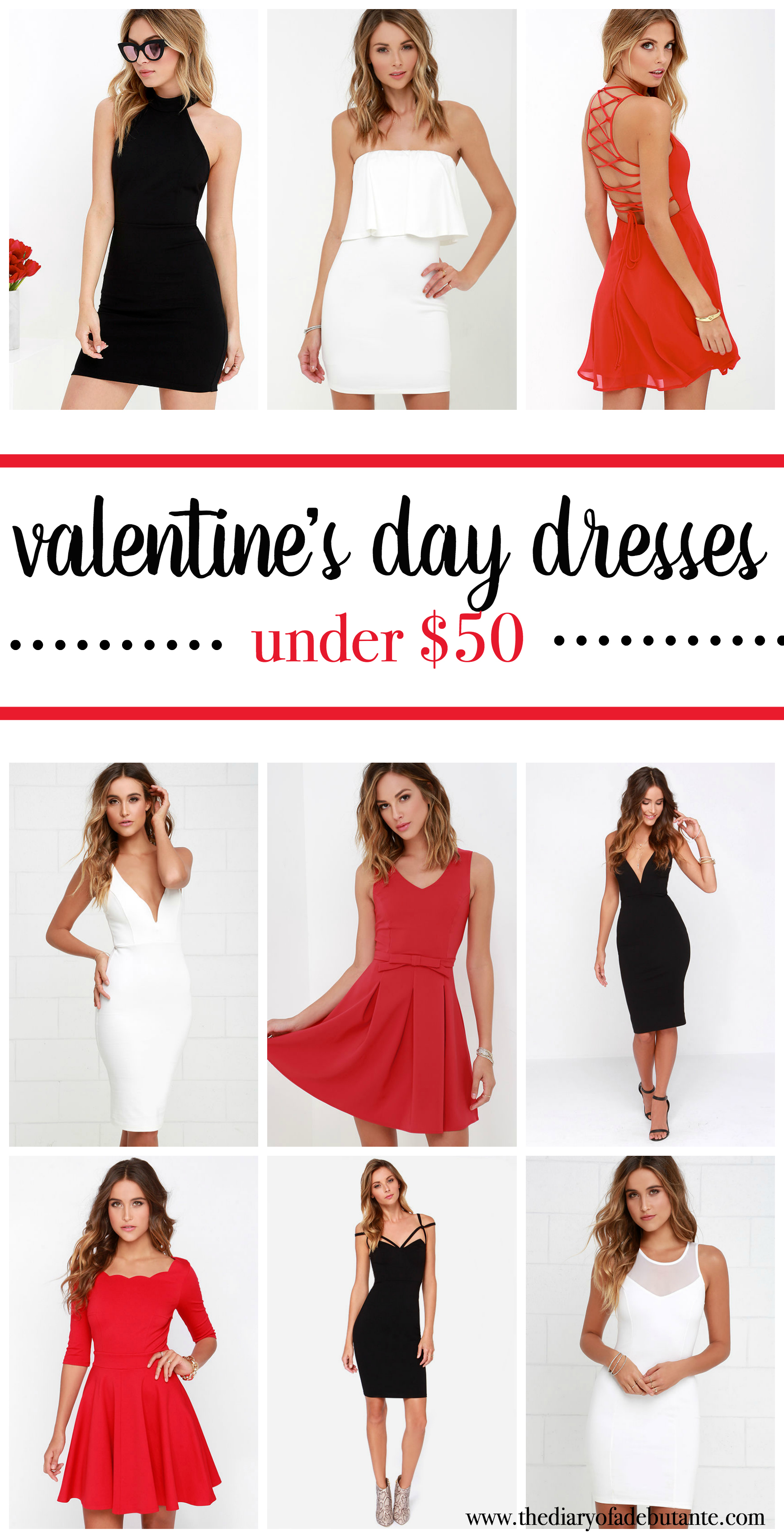 Affordable Valentine's Day Dresses - Diary of a Debutante