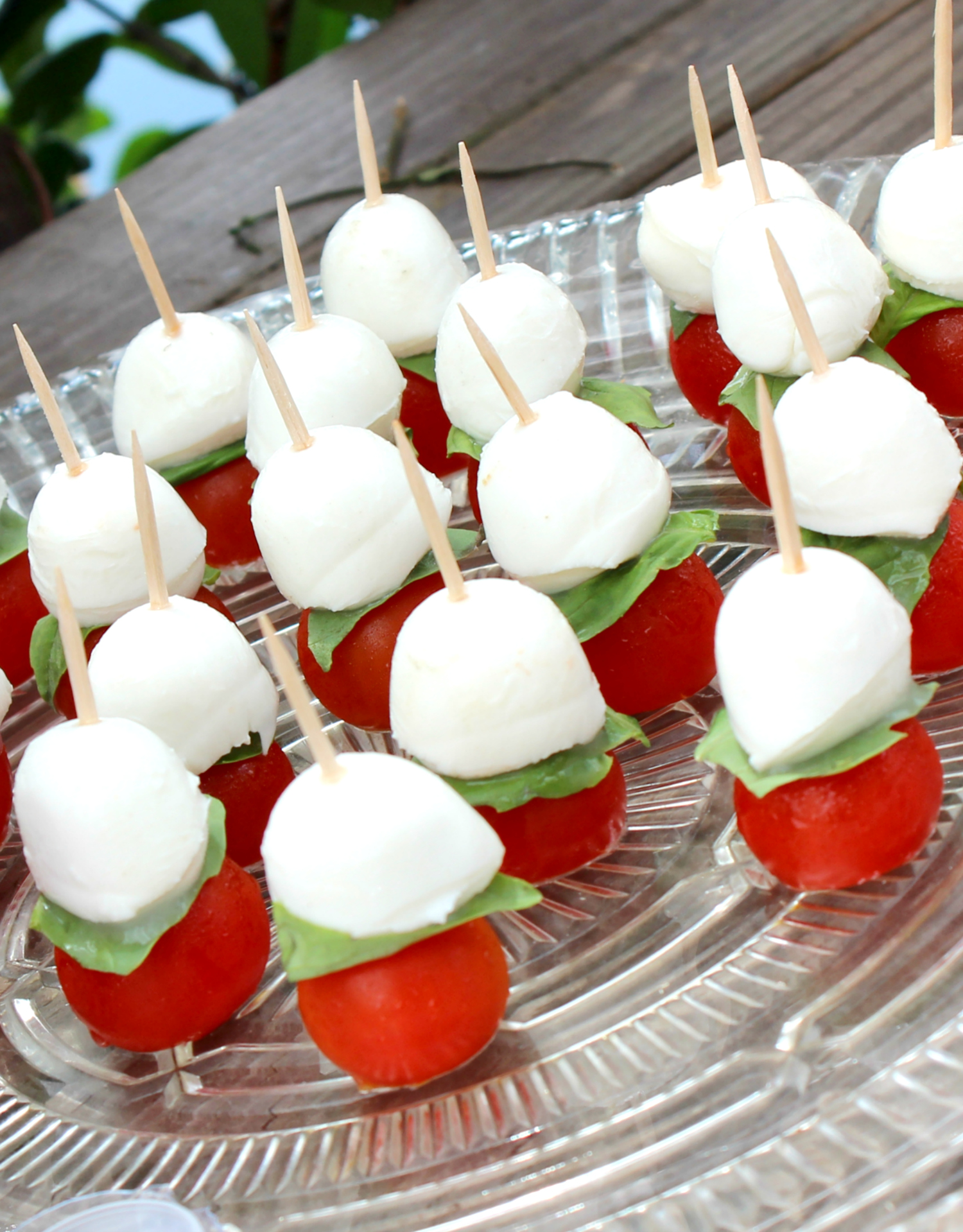 Looking for an easy summer appetizer? These caprese bites are a crowd favorite!