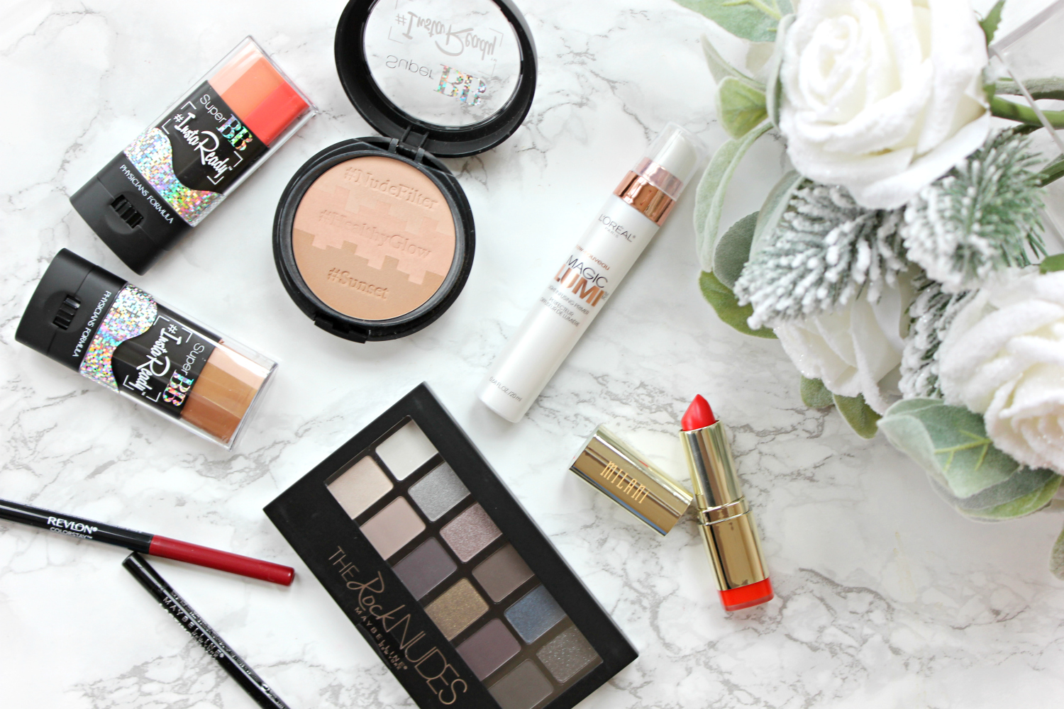 10 tips for looking better in holiday photos, featuring my picks for the best drugstore makeup for photos from CVS