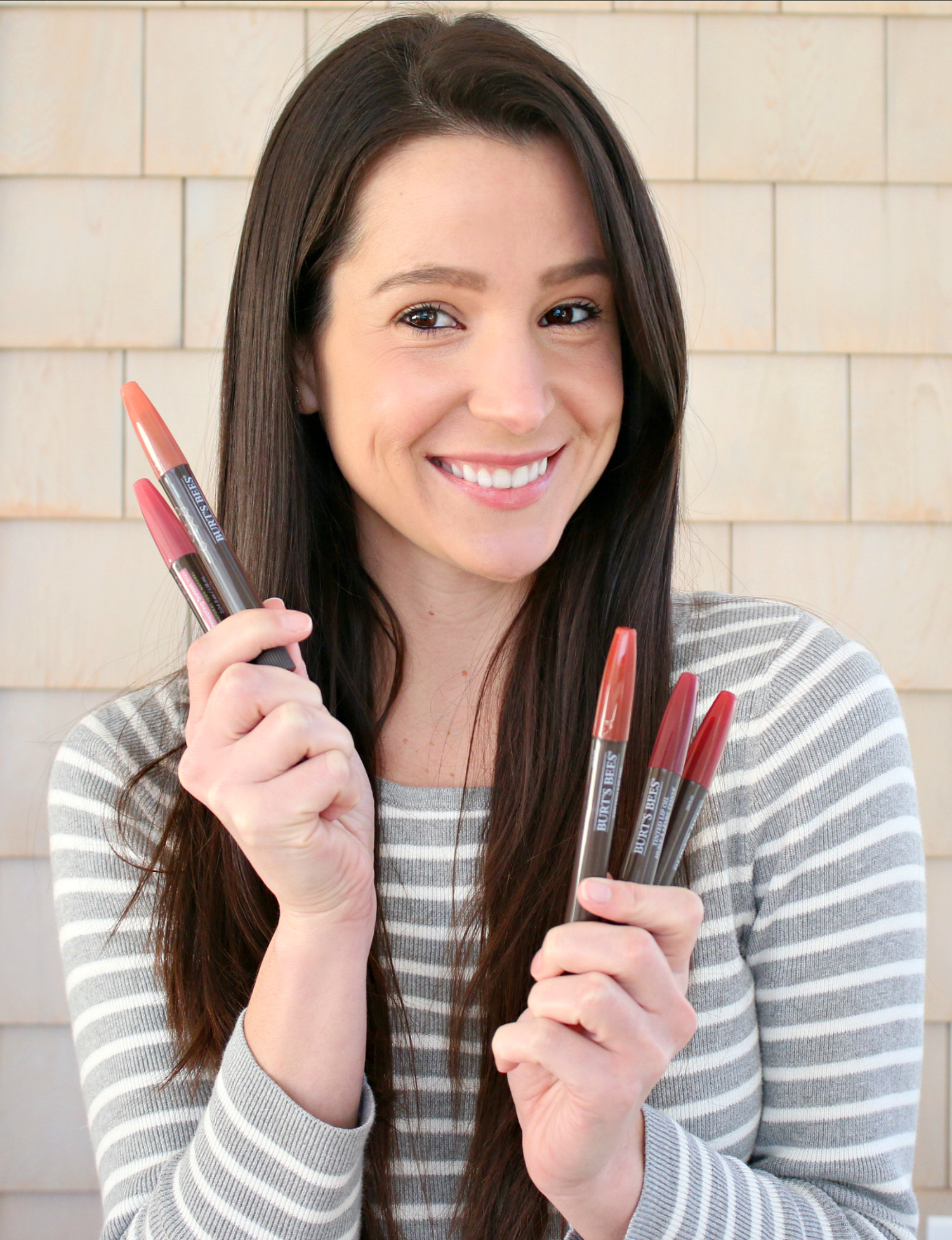 Burt's Bees Tinted Lip Oil Swatches