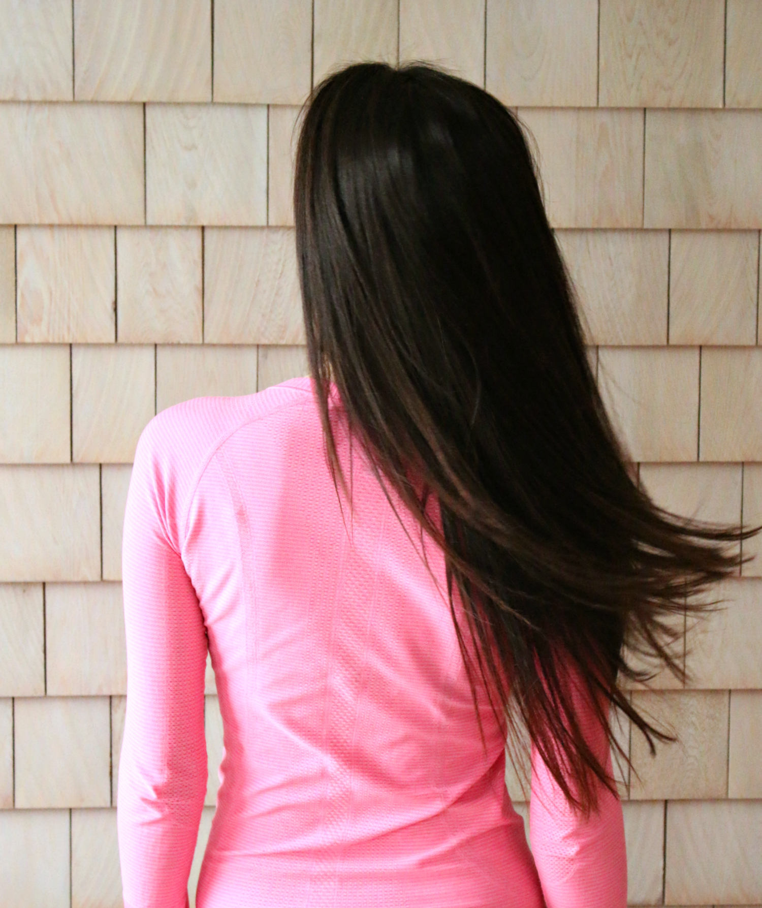 The long hair care routine for mitigating damage from styling with heat