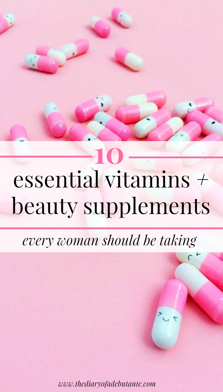 The best vitamins and beauty supplements for women