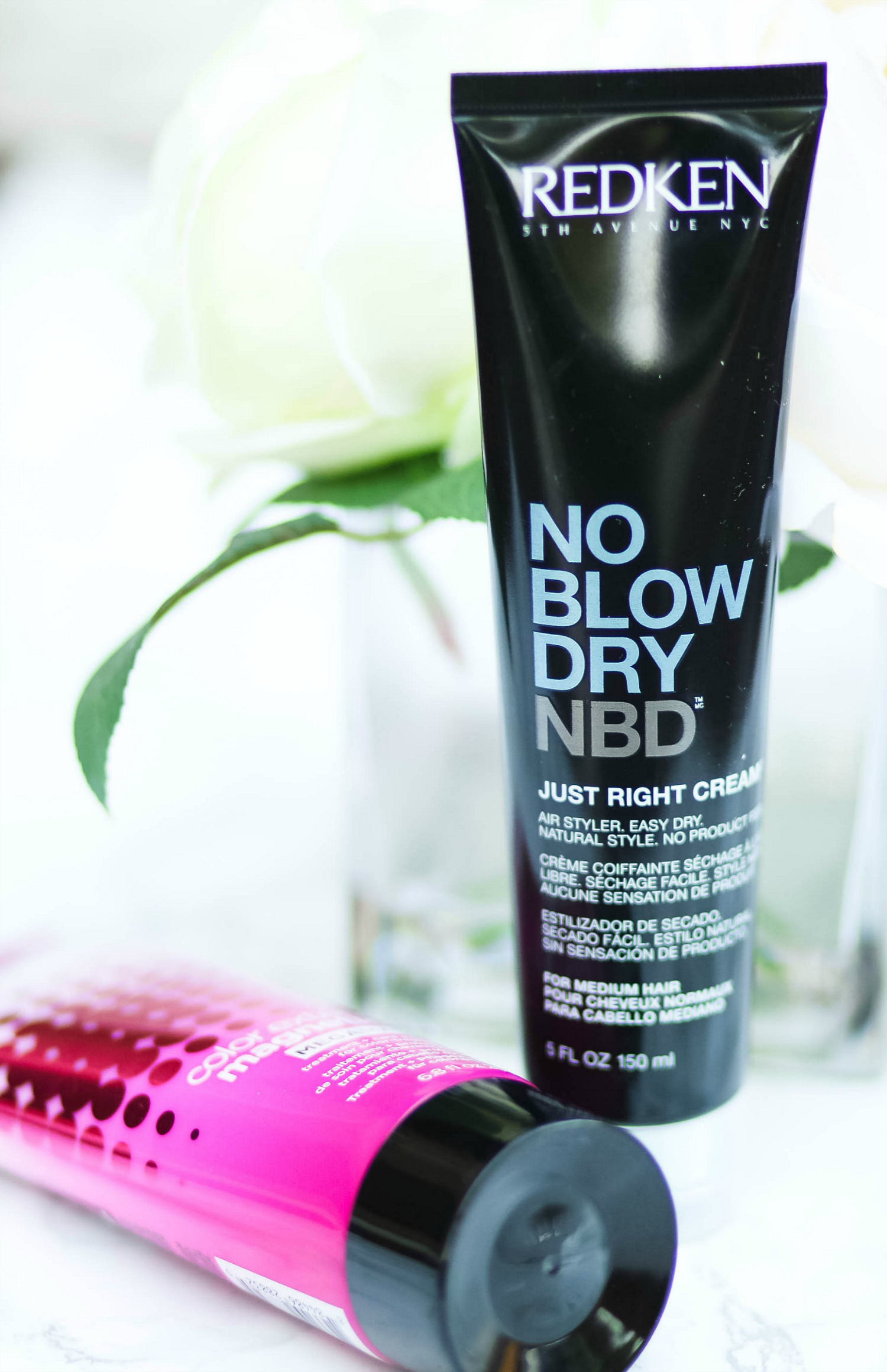 Redken's best products for dry frizzy hair