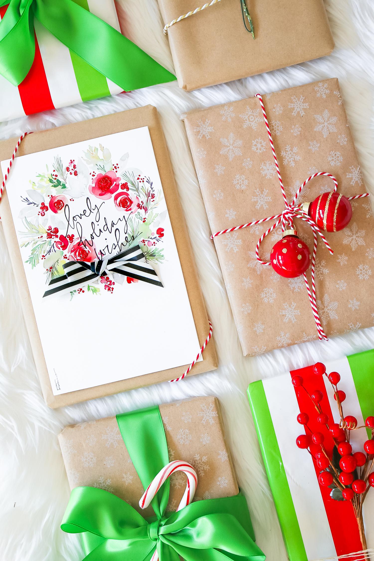 Elegant Holiday Gift Wrap Ideas | Diary of a Debutante