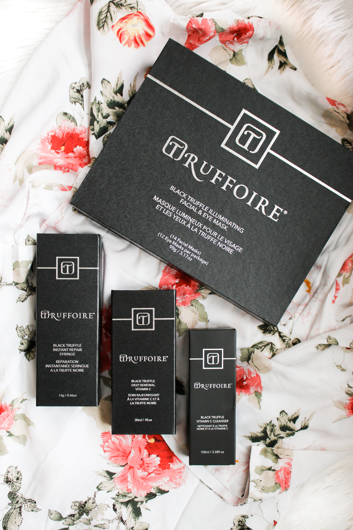 Truffoire skin care review, black truffle skincare, truffle skincare, Truffoire Review: The Benefits of Black Truffle Skincare by beauty blogger Stephanie Ziajka from Diary of a Debutante, Truffoire Black Collection review, Truffoire review